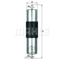 Топливный фильтр (Mahle/Knecht) KL473