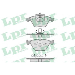 Комплект тормозных колодок, дисковый тормоз (Lpr) 05P1193