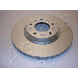 Диск тормозной передний вентилируемый (Ashika) 6003309