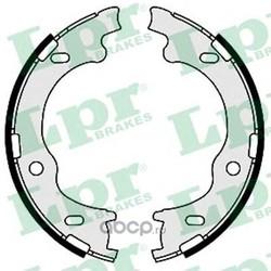 Комплект тормозных колодок, стояночная тормозная система (Lpr) 09630