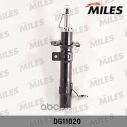 Амортизатор FIESTA V 1.3/1.4/1.6 0408/MAZDA 2 1.4/1.6 1.047.07 пер.лев.газ. (Miles) DG11020