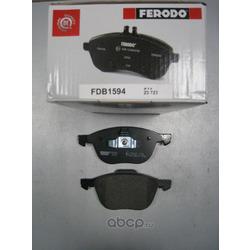 Комплект тормозных колодок, дисковый тормоз (Ferodo) FDB1594