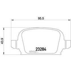 Колодки тормозные дисковые TEXTAR (Textar) 2328404