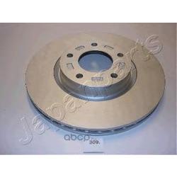 Диск тормозной передний вентилируемый (Japanparts) DI309