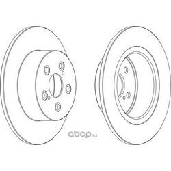 Тормозной диск (Ferodo) DDF1556