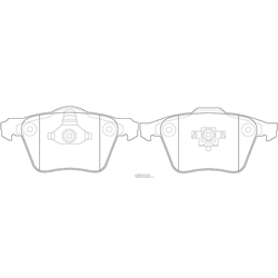 Колодки тормозные дисковые (FIT) FP0213