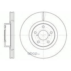 Тормозной диск (Remsa) 671510