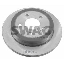 Диск тормозной задний (Swag) 10921923