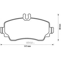 Комплект тормозных колодок, дисковый тормоз (Jurid) 571945J