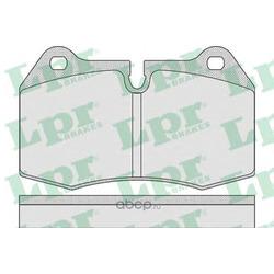 Комплект тормозных колодок, дисковый тормоз (Lpr) 05P769