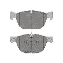 Комплект тормозных колодок, дисковый тормоз (SCT) SP356