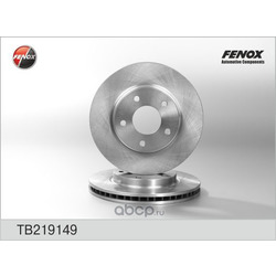 Тормозной диск (FENOX) TB219149