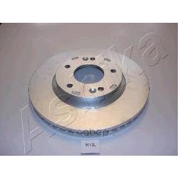 Диск тормозной передний вентилируемый (Ashika) 600H012
