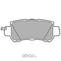 Комплект тормозных колодок (Delphi) LP2482
