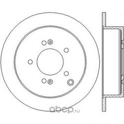 Тормозной диск (Jurid) 562454JC