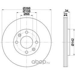 Диск тормозной TEXTAR (Textar) 92111503