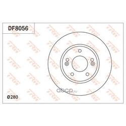 Тормозной диск (TRW/Lucas) DF8056