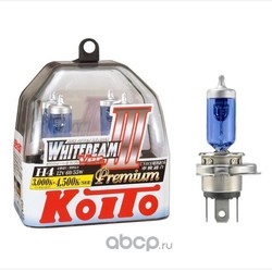Лампа высокотемпературная Koito Whitebeam Premium, комплект 2 шт. (KOITO) P0744W