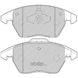 """Колодки тормозные дисковые передние, комплект """"Premier (Ferodo) FDB1728"""