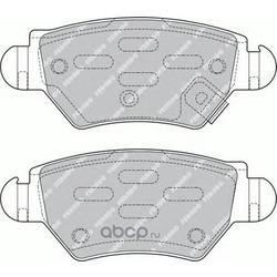Комплект тормозных колодок, дисковый тормоз (Ferodo) FDB1294