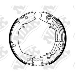 Колодки стояночного тормоза (NiBK) FN0644