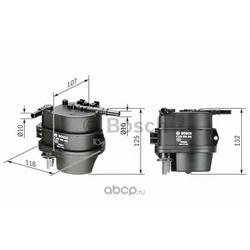 Топливный фильтр (Bosch) 0450906460
