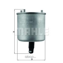 Топливный фильтр (Mahle/Knecht) KL788