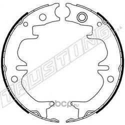Комплект тормозных колодок, стояночная тормозная система (Trusting) 115314