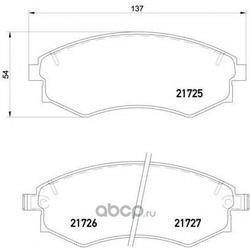 Колодки торм.пер. Hyundai Lantra, Sonata (Mintex) MDB1488