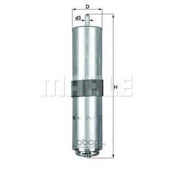 Топливный фильтр (Mahle/Knecht) KL763D