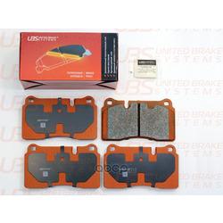 Колодки тормозные, комплект, передние (UBS) B1102007
