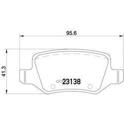 Колодки тормозные дисковые TEXTAR (Textar) 2313805