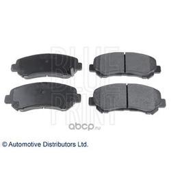 Комплект тормозных колодок, дисковый тормоз (Blue Print) ADM542100