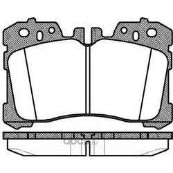 Комплект тормозных колодок, дисковый тормоз (Remsa) 132000