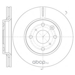 Тормозной диск (Remsa) 6100310
