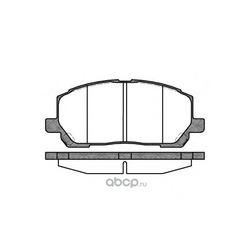 Комплект тормозных колодок, дисковый тормоз (Remsa) 085500
