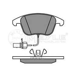 Тормозные колодки Ауди A4 A5 1.8-3.2FSI 2007- (Meyle) 0252470520W