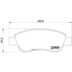 Колодки тормозные дисковые TEXTAR (Textar) 2395901