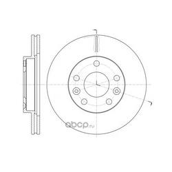Тормозной диск (Remsa) 6147810