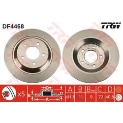 Диск тормозной (TRW/Lucas) DF4468