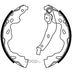 Комплект тормозных колодок (Ferodo) FSB672