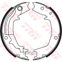 Комплект тормозных колодок (TRW/Lucas) GS8489