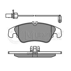 Комплект тормозных колодок, дисковый тормоз (Meyle) 0252474319W