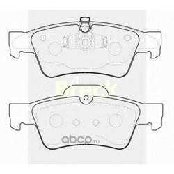 Комплект тормозных колодок, дисковый тормоз (BRECK) 239230070200