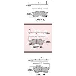 Дисковые тормозные колодки (Friction Master) ELT637