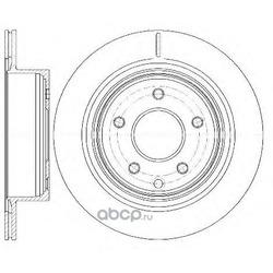 Тормозной диск (Remsa) 699810