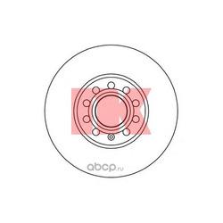 Диск тормозной пер. вент.NK (Nk) 204743