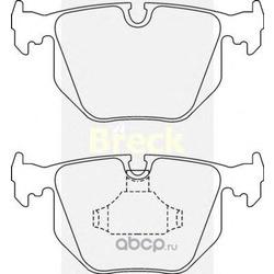 Комплект тормозных колодок, дисковый тормоз (BRECK) 212820070200