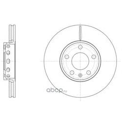 Тормозной диск (Remsa) 632810