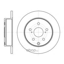 Тормозной диск (Remsa) 6118800